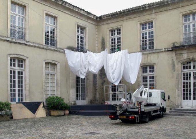 L'école des arts, Avignon / Empty Stages de Tim Etchells et Hugo Glendinning