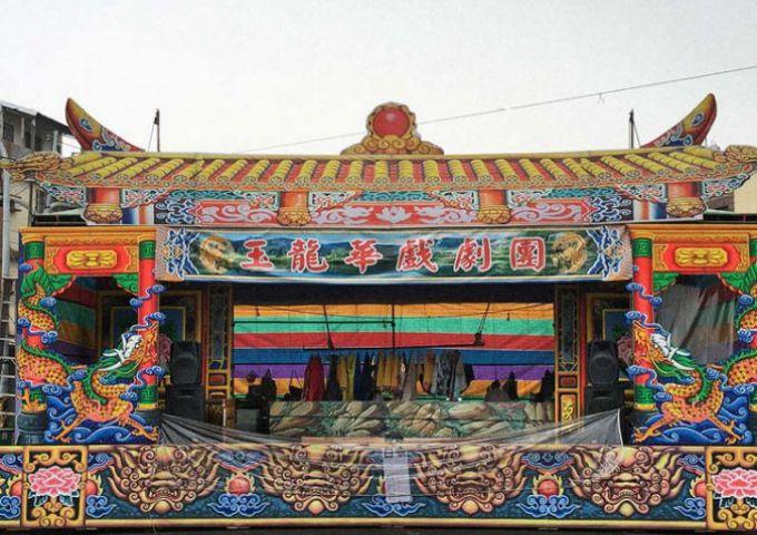 outdoor_stage_nanzhou_taiwan / Empty Stage de Tim Etchells et Hugo Gleninning