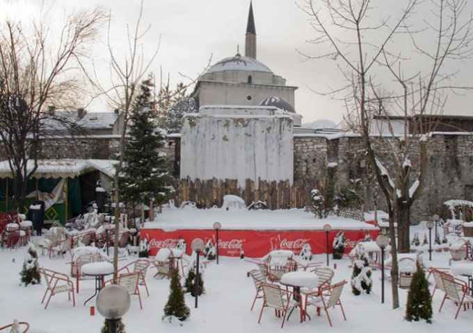 Sarajevo Snow Final / Empty Stages de Tim Etchells et Hugo Glendinning