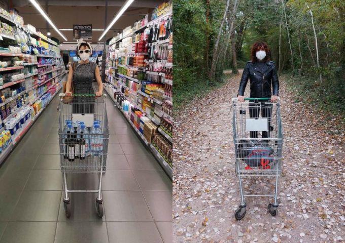 Audioguide pour supermarché en temps de pandémie © CaboSanRoque